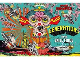 GENERATIONS from EXILE TRIBE《SHONEN CHRONICLE》音乐专辑-百度网盘下载-江城亦梦